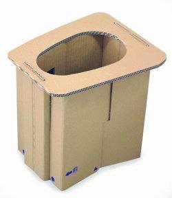 画像1: 備蓄用簡易トイレ